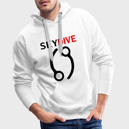 Skydive Pin 69 - Männer Premium Hoodie