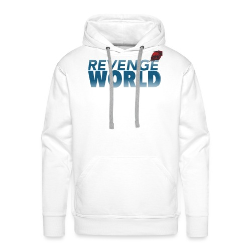 """ REVENGE WORLD "" ( CHOOSE WHITE - Premiumluvtröja herr"