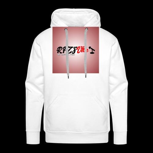 Rap Prosto Z Serca - Bluza męska Premium z kapturem