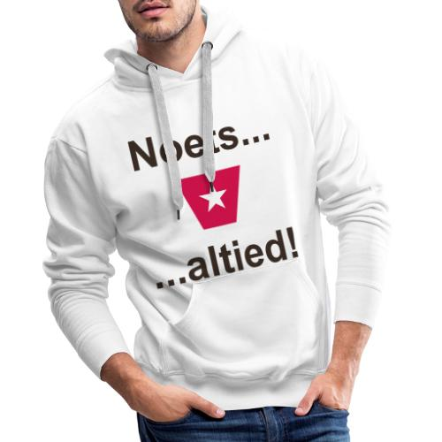 Noets en altied ms def b - Mannen Premium hoodie