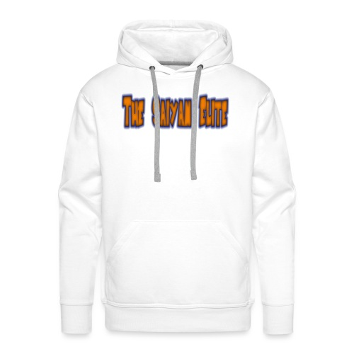 the saiyan elite design 1 - Men's Premium Hoodie