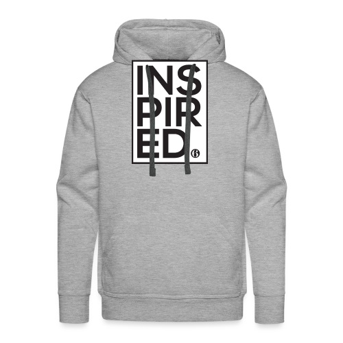 Inspired6 Tee White - Men's Premium Hoodie