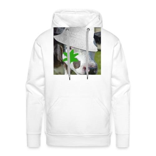 brouteuse - Sweat-shirt à capuche Premium pour hommes
