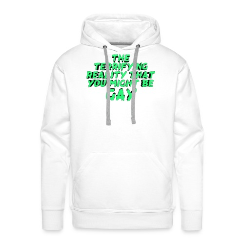 Scariest Things: The Gay Realisation - Men's Premium Hoodie