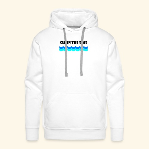 clean the seas - Männer Premium Hoodie