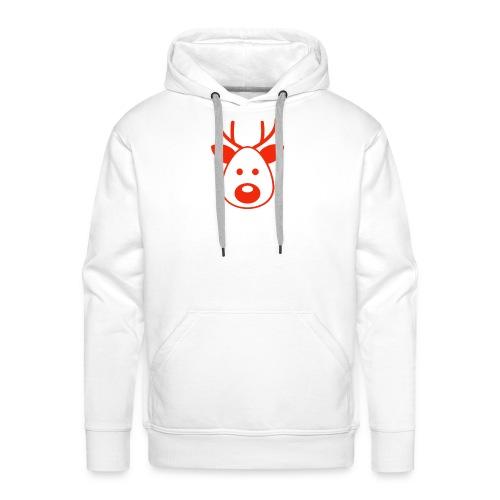 Rudolf das Rentier - Männer Premium Hoodie