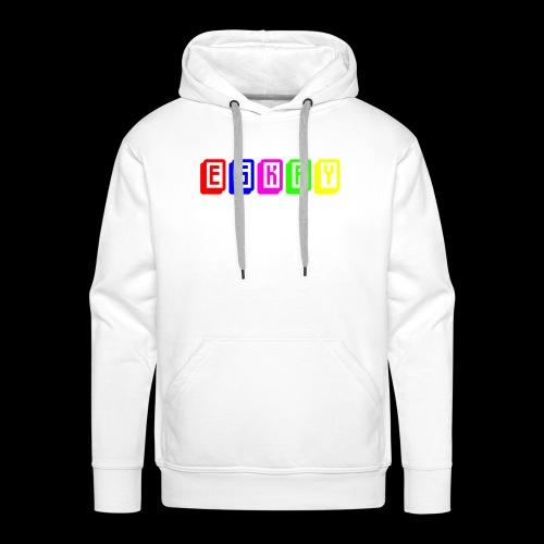 Eskay Mahjong-Format - Männer Premium Hoodie