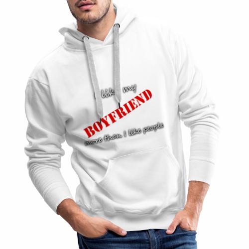 Couple Copain BOYFRIEND CRYM - Sweat-shirt à capuche Premium pour hommes