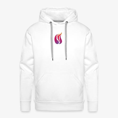 Fire logo - Men's Premium Hoodie