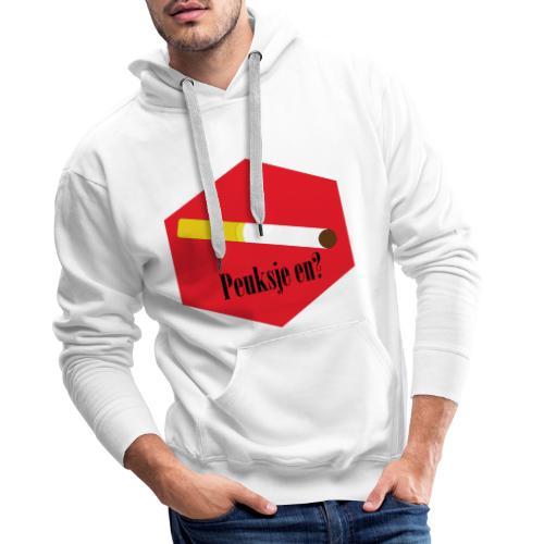 Peuksje en? - Mannen Premium hoodie