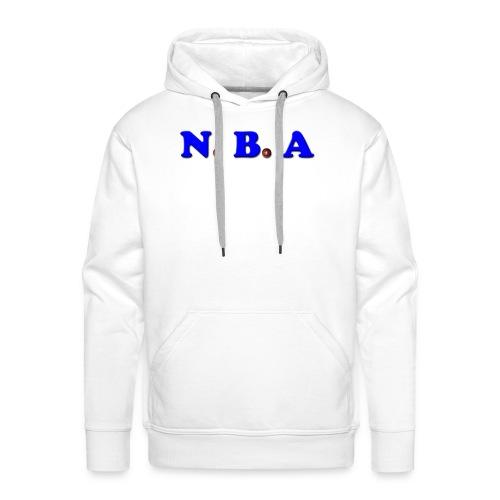 N.B.A basketball - Sweat-shirt à capuche Premium pour hommes
