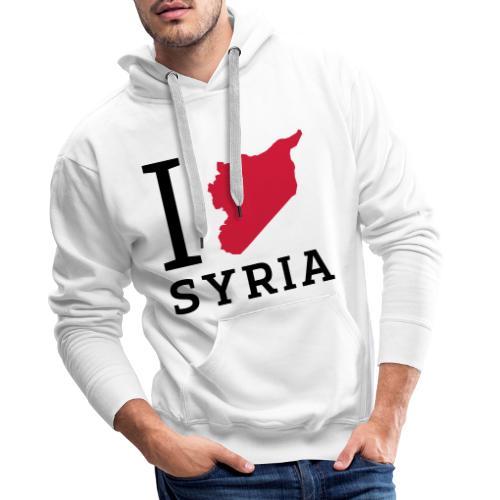 I love Syria - Mannen Premium hoodie