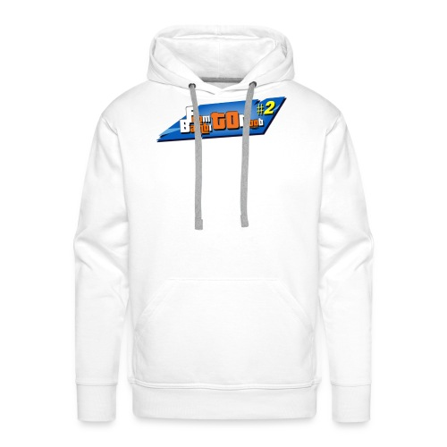 From bambi to noob - Sweat-shirt à capuche Premium pour hommes