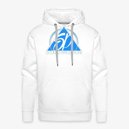 SP LOGO PERCEPTION CLOTHES BLEU - Sweat-shirt à capuche Premium pour hommes