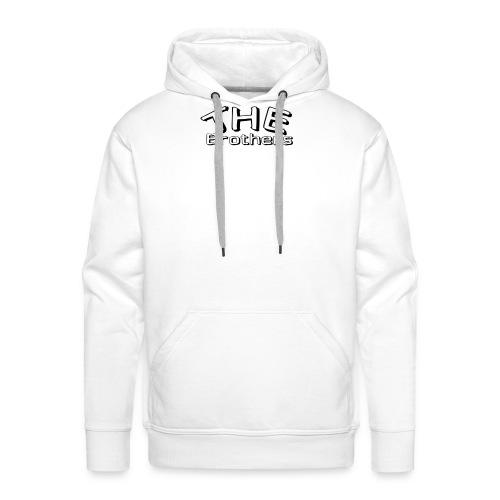 logo THE Brothers - Mannen Premium hoodie
