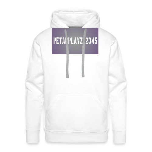petarplayz bag - Men's Premium Hoodie