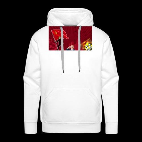 URSS feat. LeSaloo - Sweat-shirt à capuche Premium pour hommes
