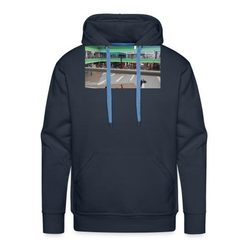 imagen de centro comercial - Sudadera con capucha premium para hombre