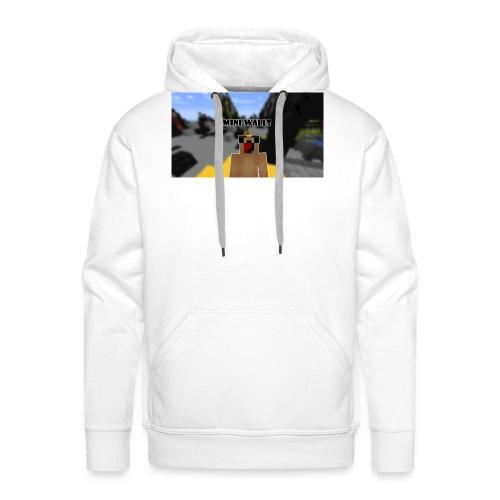 First T-Shirt - Men's Premium Hoodie