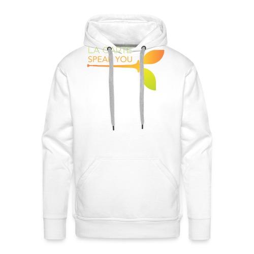 LOGO SPEAK YOU - Sweat-shirt à capuche Premium pour hommes