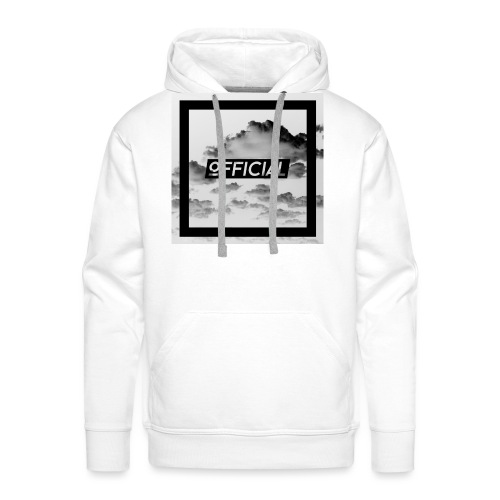 Official T - White Cloud Version - Men's Premium Hoodie