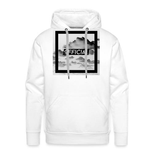 Official T - White Cloud Version - Men's Premium Hoodie