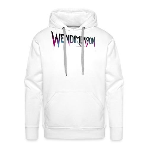 wendimension wordmark space - Miesten premium-huppari