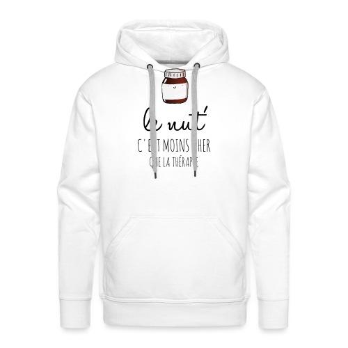 Le Nut' - Sweat-shirt à capuche Premium pour hommes