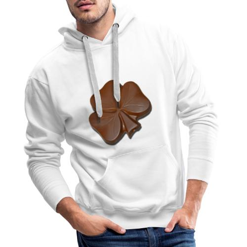 Chocolate Shamrocks - Men's Premium Hoodie