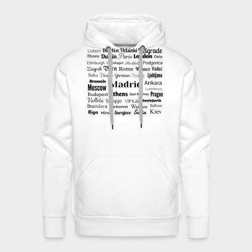 European capitals - Men's Premium Hoodie