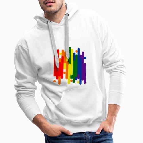Abstract Pride Design - Men's Premium Hoodie