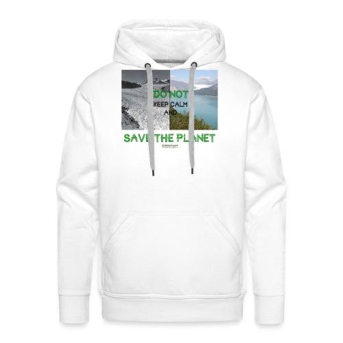 Save the planet - Sweat-shirt à capuche Premium pour hommes