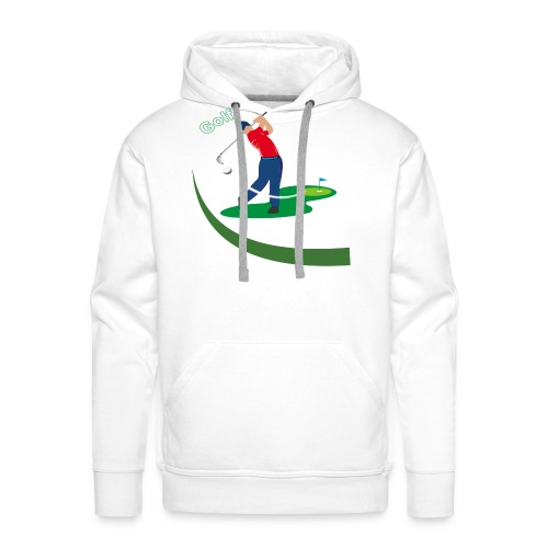 Golf - Sweat-shirt à capuche Premium pour hommes
