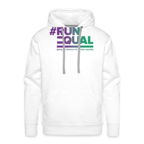 Gender Equality in Athletics #runequal - Men's Premium Hoodie