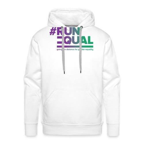Gender Equality in Athletics #runequal - Men's Premium Hoodie