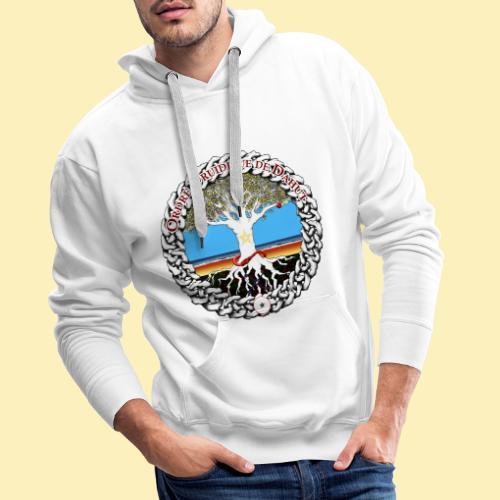 Médaillon d'AelYs - Sweat-shirt à capuche Premium pour hommes