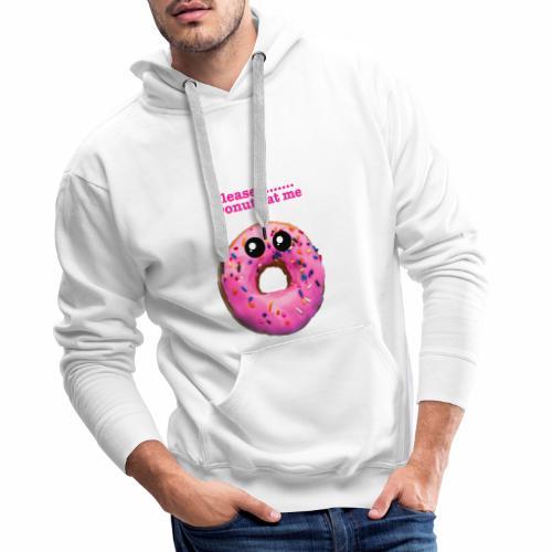 donut eat me - Men's Premium Hoodie