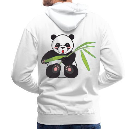 Panda x Levitation Noir - Sweat-shirt à capuche Premium pour hommes