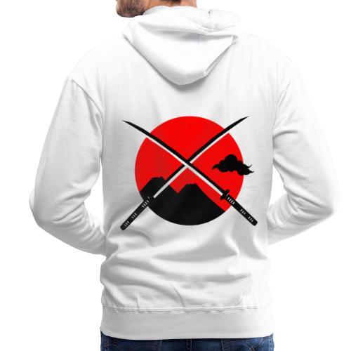 Japan x Levitation 2 - Sweat-shirt à capuche Premium pour hommes