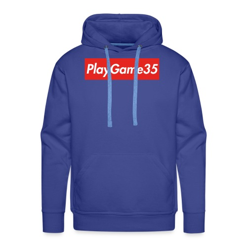PlayGame35 - Felpa con cappuccio premium da uomo