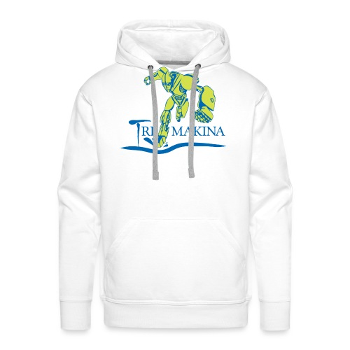 Logo TriMakina - Sudadera con capucha premium para hombre