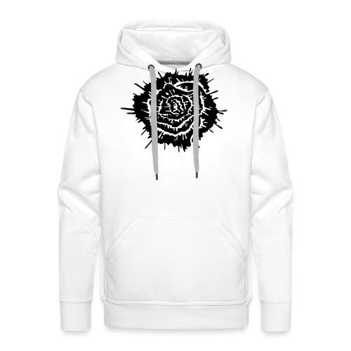 Dead Roses - Felpa con cappuccio premium da uomo