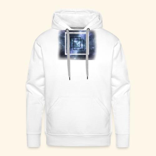 cube nebula - Männer Premium Hoodie