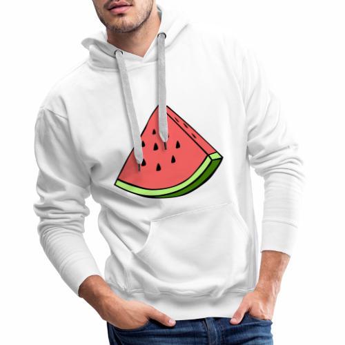 watermelon - Sudadera con capucha premium para hombre