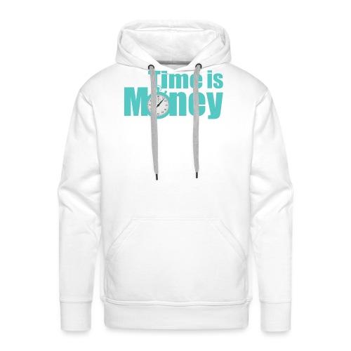 Time is Money - Men's Premium Hoodie