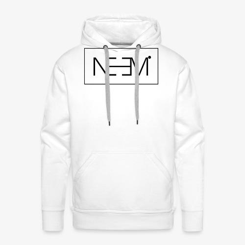 Neemi Black - Miesten premium-huppari