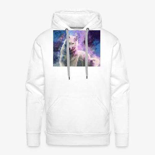 White Wolf - Miesten premium-huppari