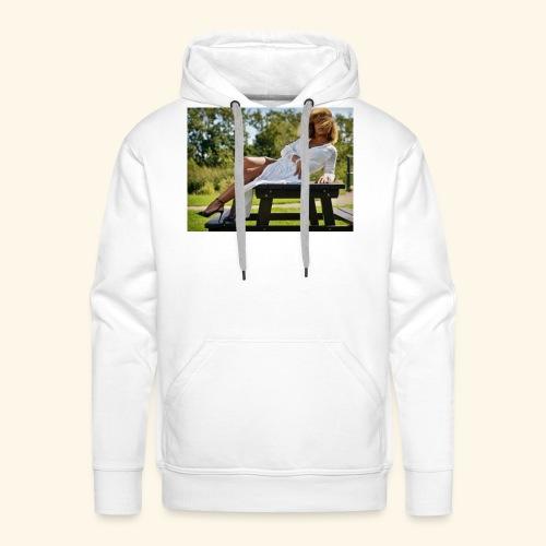 een foto van me mooie foto in Den Haag - Mannen Premium hoodie