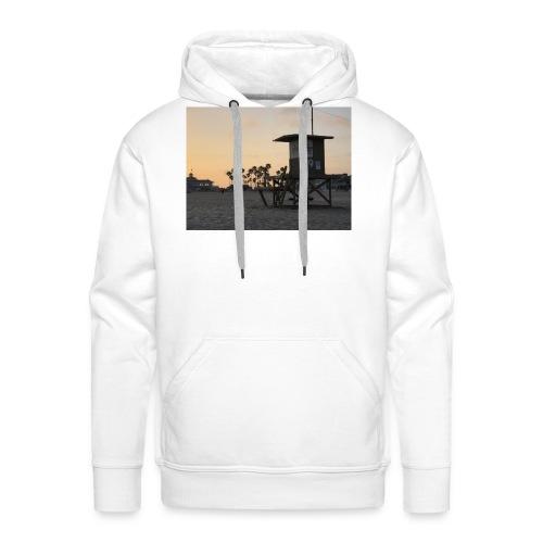 Los Angeles sundown - Mannen Premium hoodie