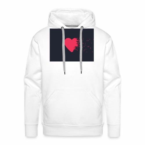 Hart - Mannen Premium hoodie